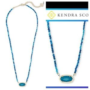 NWT KS Elisa beaded pendant necklace